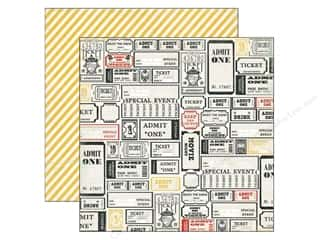 Adomit: Simple Stories Paper 12 x 12 in. Say Cheese Admit One (25 piece)
