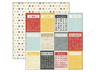 Simple Stories Paper 12 x 12 in. Say Cheese Bingo Cards (25 piece)