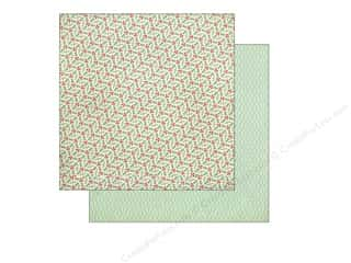 BasicGrey 12 x 12 in. Paper 25th & Pine Holly Circle (25 piece)