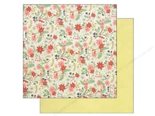 BasicGrey 12 x 12 in. Paper 25th & Pine Cranberry Crossing (25 piece)