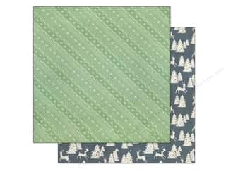 BasicGrey 12 x 12 in. Paper 25th & Pine Sleigh Bell Trail (25 piece)