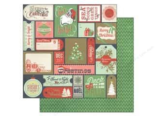 BasicGrey 12 x 12 in. Paper 25th & Pine Santa Highway (25 piece)