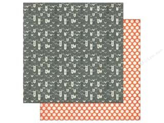 Holiday Sale: BasicGrey 12 x 12 in. Paper Persimmon Gingersnap (25 piece)