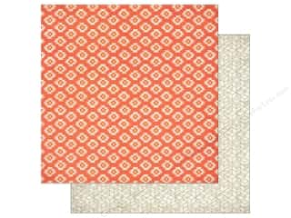 BasicGrey Fall / Thanksgiving: BasicGrey 12 x 12 in. Paper Persimmon Pumpkin Spice (25 pieces)