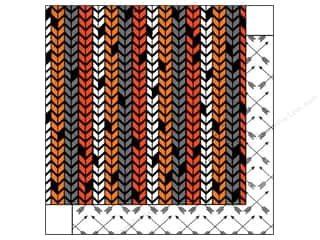 Glitz Design Halloween: Glitz Design 12 x 12 in. Paper Raven Chevron (25 pieces)