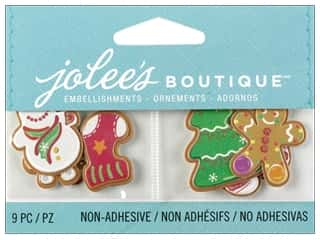 Tags EK Jolee's Boutique Embellishment: Jolee's Boutique Embellishment Christmas Cookies