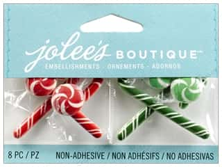 2013 Crafties - Best Adhesive: Jolee's Boutique Embellishment Mini Christmas Candies