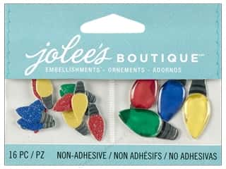 Jolee's Boutique Embellishment Christmas Lights