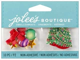 Ornaments Gold: Jolee's Boutique Embellishment Christmas Ornaments and Trees
