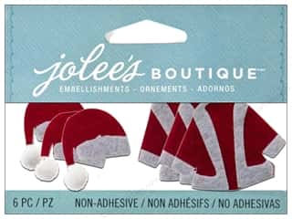 Jolee's Boutique Embellishment Santa Hats and Coats