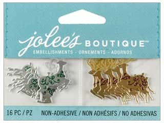 EK Success Craft Embellishments: Jolee's Boutique Embellishment Mini Reindeer