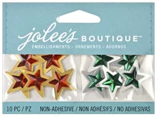 Jolee's Boutique Embellishment Mini Christmas Stars