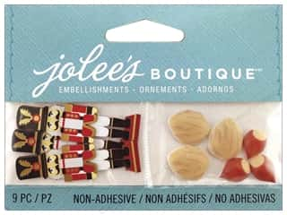 Jolee's Boutique Embellishment Mini Nutcracker