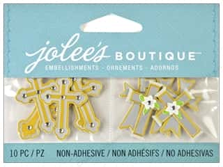 2013 Crafties - Best Adhesive: Jolee's Boutique Embellishment Mini Crosses