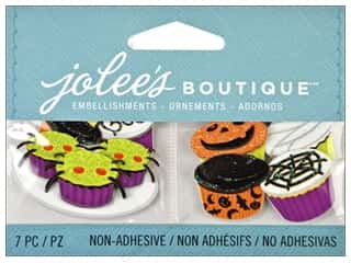 Jolee's Boutique Embellishment Mini Halloween Cupcakes