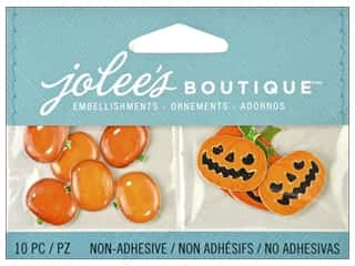 2013 Crafties - Best Adhesive: Jolee's Boutique Embellishment Jack O Lanterns and Pumpkins