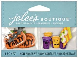Clearance Blumenthal Favorite Findings: Jolee's Boutique Embellishment Mini Halloween Party