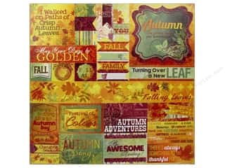 Bo Bunny Sticker Autumn Song Cardstock Combo