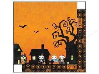Bo Bunny 12 x 12 in. Paper Fright Delight (25 piece)