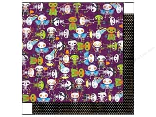Bo Bunny 12 x 12 in. Paper Fright Delight Ghouls (25 piece)