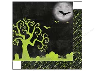 Bo Bunny Halloween Spook-tacular: Bo Bunny 12 x 12 in. Paper Fright Delight Collection Haunted (25 pieces)