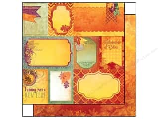 Bo Bunny 12 x 12 in. Paper Autumn Song Notes (25 piece)