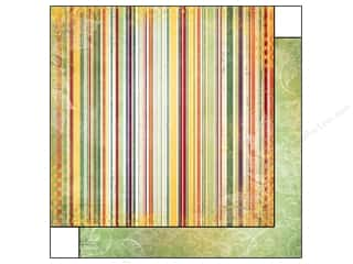 Bo Bunny Paper 12x12 Autumn Song Stripe (25 piece)