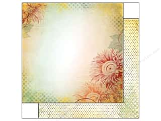 Bo Bunny 12 x 12 in. Paper Autumn Song Sunflower (25 piece)