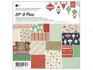BasicGrey Paper Pad 6 x 6 in. 25th & Pine 36 pc.