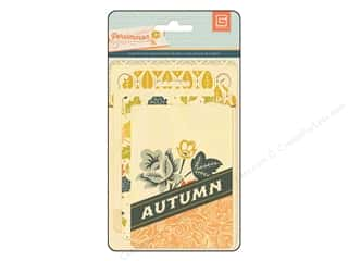 BasicGrey Die Cut Persimmon Wood Veneer Cards