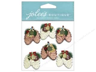 Jolee's Boutique Stickers Mini Pinecone Bunches