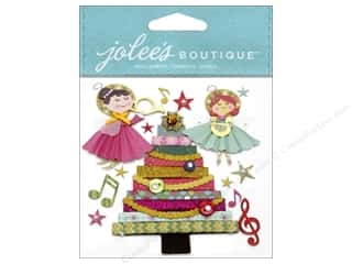 Jolee's Boutique Stickers Rolled Paper Tree