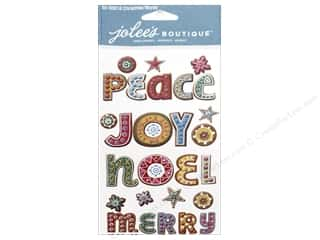 EK Jolee's Boutique Christmas Words