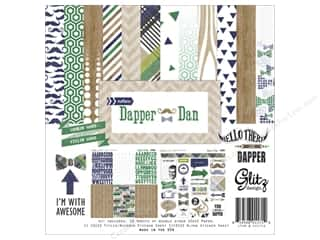 "Stamped Goods Weekly Specials: Glitz Design Collection Kit Dapper Dan 12""x 12"""