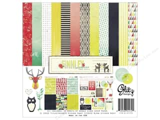 Clearance Best Creation Collection Kit: Glitz Design Collection Kit Finnley 12x12