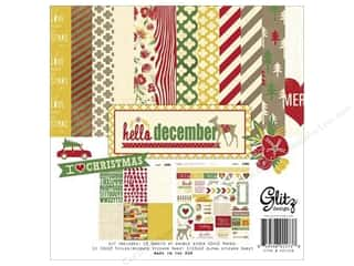 Weekly Specials Collection Kit: Glitz Design Collection Kit Hello December 12x12