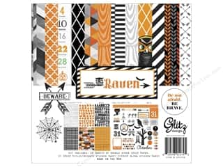 Weekly Specials Collection Kit: Glitz Design Collection Kit Raven 12x12