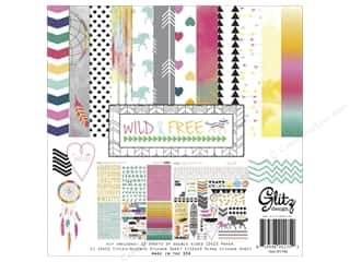 Weekly Specials Collection Kit: Glitz Design Collection Kit Wild & Free 12x12
