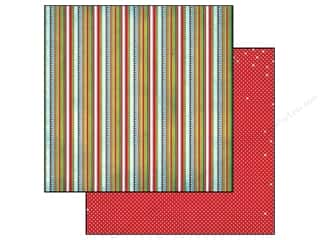 Bo Bunny 12 x 12 in. Paper Elf Magic Stripe (25 piece)