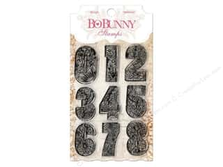 ABC & 123 Clear: Bo Bunny Clear Stamps Countdown
