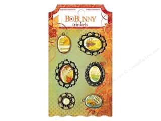 Clearance Blumenthal Favorite Findings: Bo Bunny Trinkets 6 pc. Autumn Song