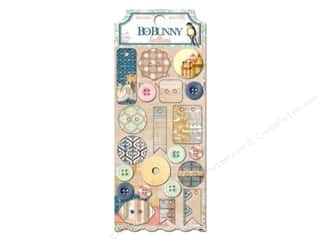 button: Bo Bunny Buttons 21 pc. The Avenues