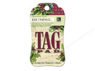 K&Co Tag Pad Christmas Cheer Gift