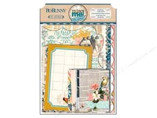 Bo Bunny $10 - $15: Bo Bunny Misc Me Journal Contents The Avenues