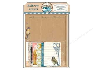 Bo Bunny Designer Papers & Cardstock: Bo Bunny Misc Me Weekly Contents The Avenues