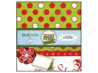 binders: Bo Bunny Misc Me Binder 8 x 9 in. Elf Magic