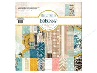 Weekly Specials Paper Packs: Bo Bunny 12 x 12 in. Paper Collection Pack The Avenues