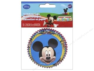 Licensed Products New: Wilton Baking Cup Standard Mickey Mouse 50pc