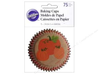 Wilton Baking Cup Autumn 75pc