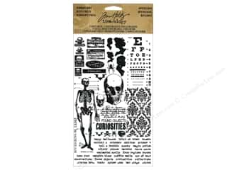 Tim Holtz Idea-ology Remnant Rubs Halloween Apoth